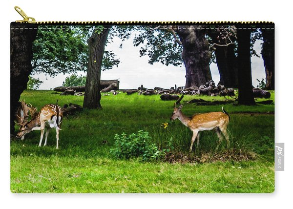Deer In The Park Carry-all Pouch