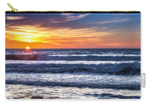 Sunset - Del Mar, California View 1 Carry-all Pouch