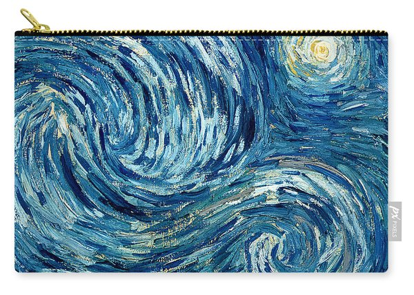 Detail Of The Starry Night Carry-all Pouch