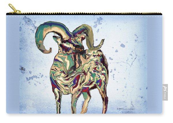 Digital Bighorn Ram Carry-all Pouch