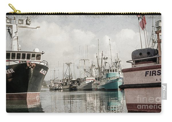 Docked At The Bay Carry-all Pouch