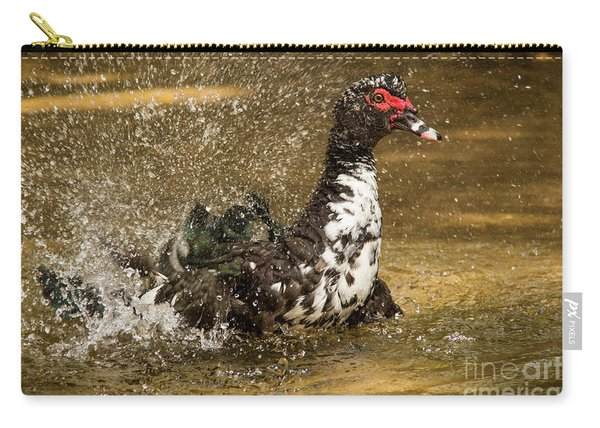 Does She See Me Yet? Wildlife Art By Kaylyn Franks Carry-all Pouch