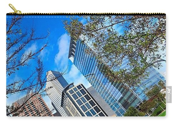#downtown #houston On A #beautiful Carry-all Pouch
