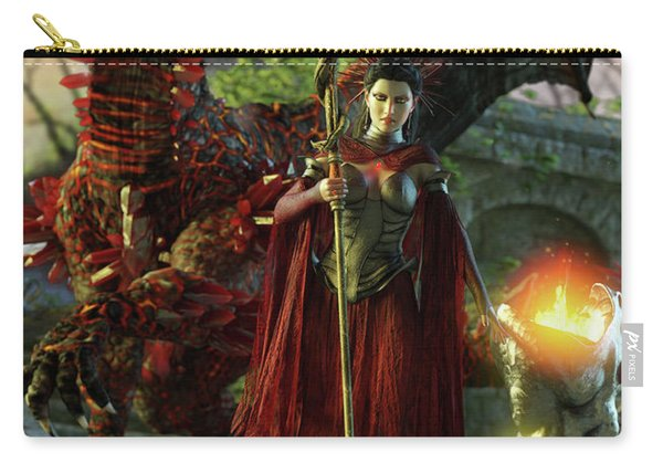 Dragon Queen Carry-all Pouch