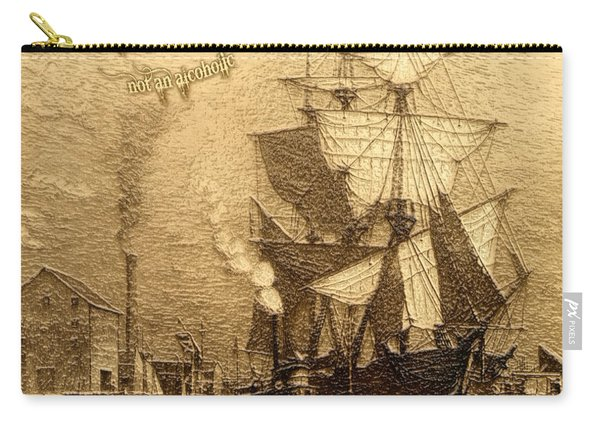 Drinking Rum Before Noon Carry-all Pouch