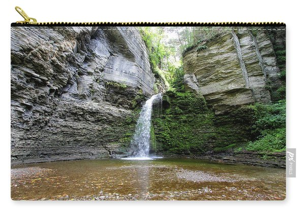 Eagle Cliff Falls In Ny Carry-all Pouch