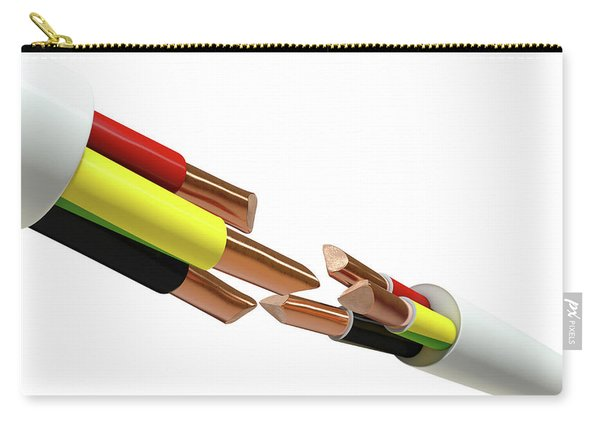 Electrical Cable Cut Carry-all Pouch