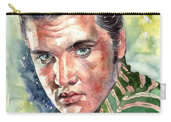Elvis Presley Portrait Carry-all Pouch