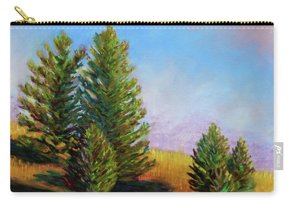 Evening Sun In Yellowstone Carry-all Pouch
