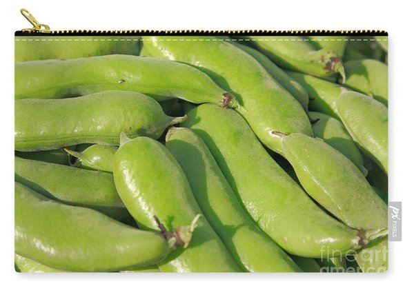 Fava Bean Pods Carry-all Pouch