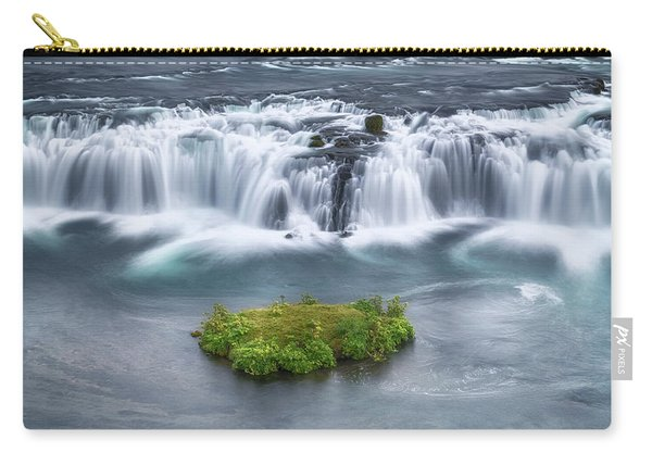 Faxi Waterfall - Iceland Carry-all Pouch