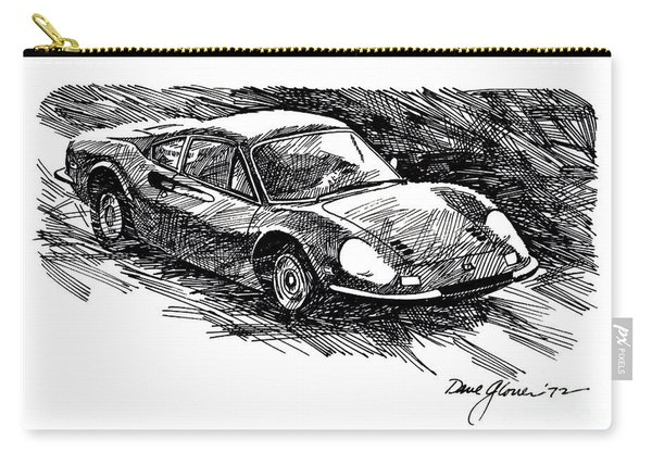 Ferrari Dino Carry-all Pouch