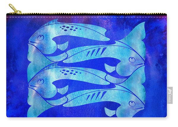 1 Fish 2 Fish Carry-all Pouch