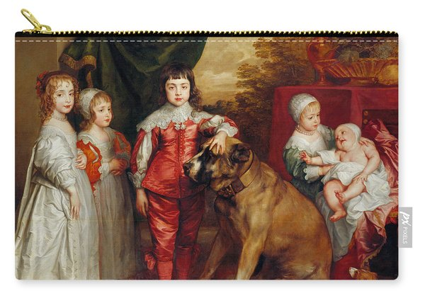 Five Eldest Children Of Charles I Carry-all Pouch