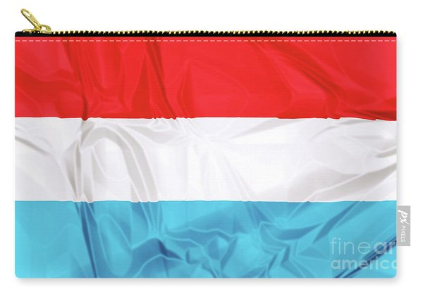 Flag Of Luxembourg Carry-all Pouch