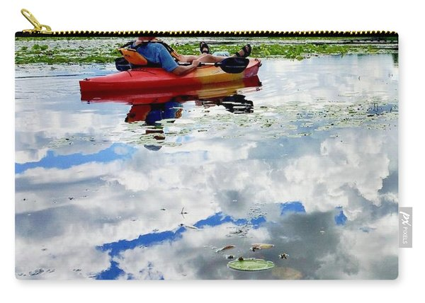 Floating In The Sky Carry-all Pouch