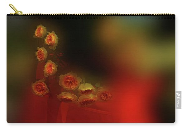 Floral Art 8 Carry-all Pouch