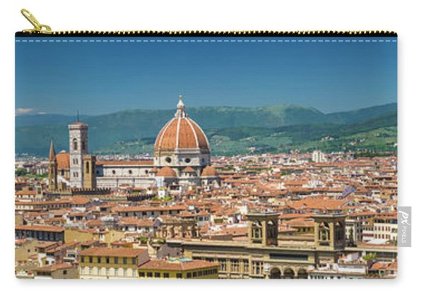 Florence View From Piazzale Michelangelo - Panoramic Carry-all Pouch