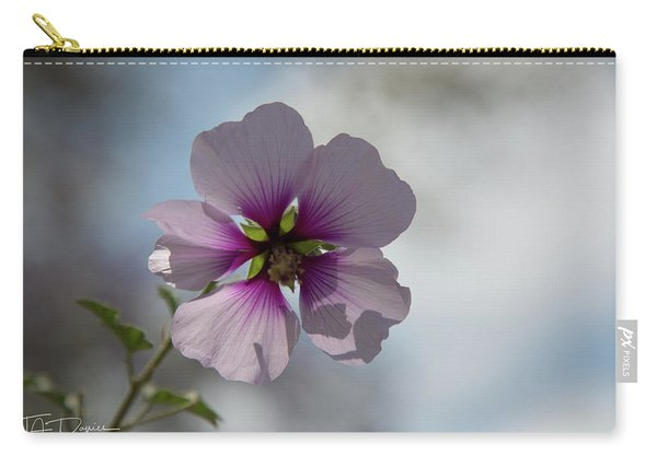 Flower In Focus Carry-all Pouch