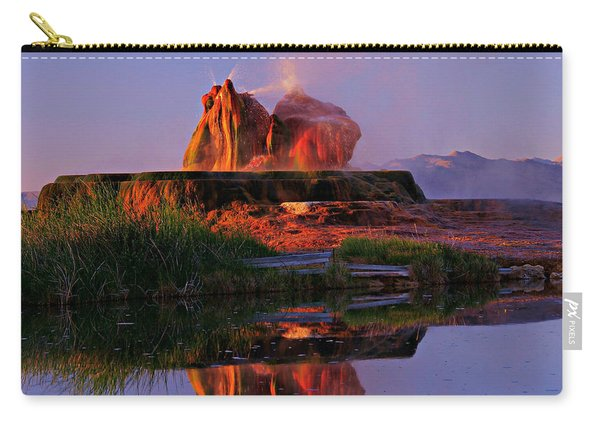 Fly Geyser At Dawn Carry-all Pouch
