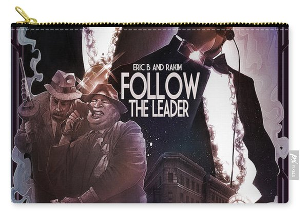 Carry-all Pouch featuring the digital art Follow The Leader 2 by Nelson Dedos Garcia