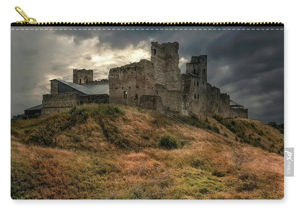 Carry-all Pouch featuring the photograph Forgotten Castle by Jaroslaw Blaminsky