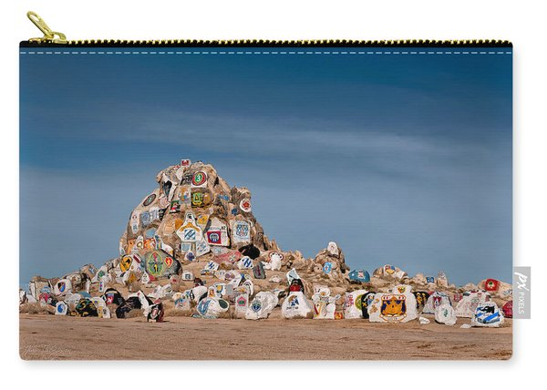 Carry-all Pouch featuring the photograph Fort Irwin by Jim Thompson