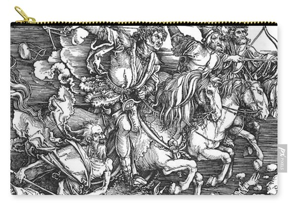 Four Horsemen Of The Apocalypse Carry-all Pouch