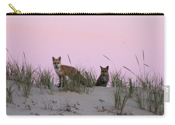 Fox And Vixen Carry-all Pouch