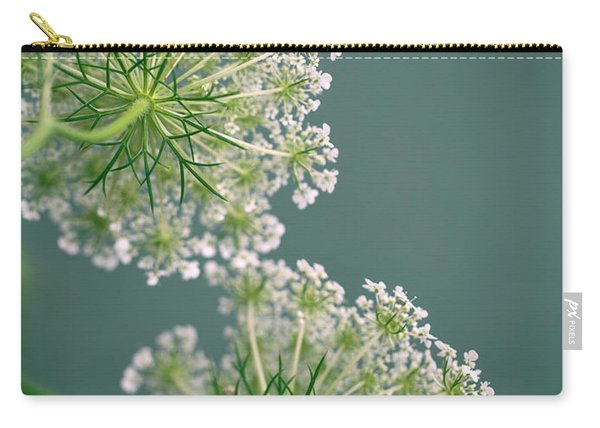Fragile Dill Umbels On Summer Meadow Carry-all Pouch