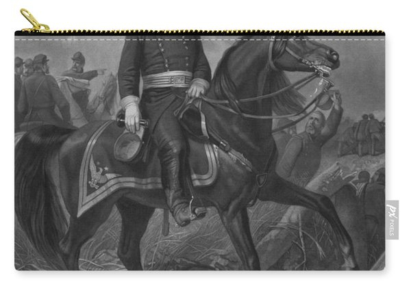 General George Mcclellan On Horseback Carry-all Pouch