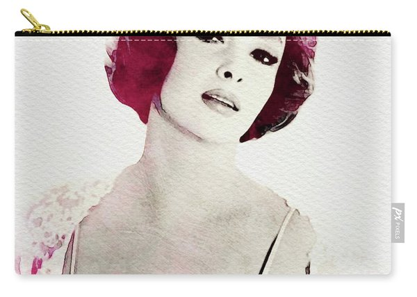 Gina Lollobrigida, Vintage Actress Carry-all Pouch