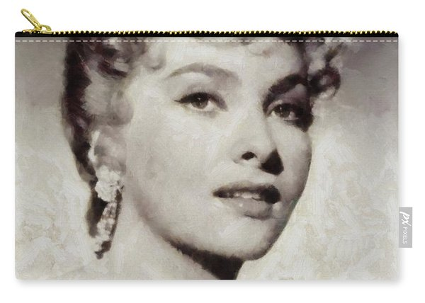 Gina Lollobrigida, Vintage Hollywood Actress Carry-all Pouch