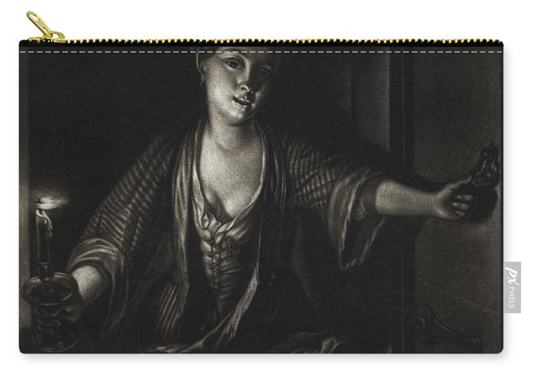 Girl With A Candle Carry-all Pouch