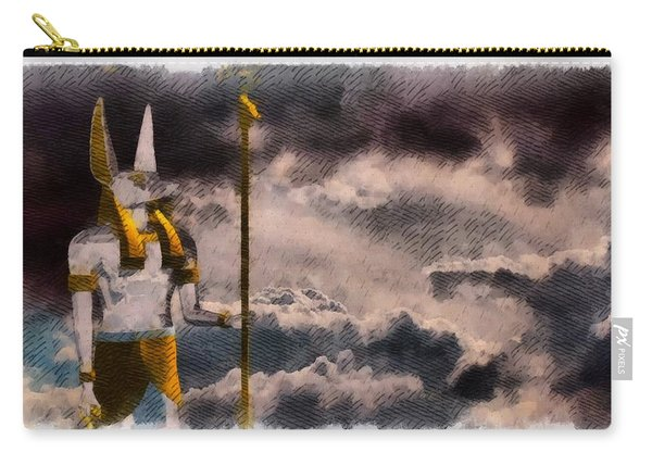 Gods Of Egypt - Anubis Carry-all Pouch