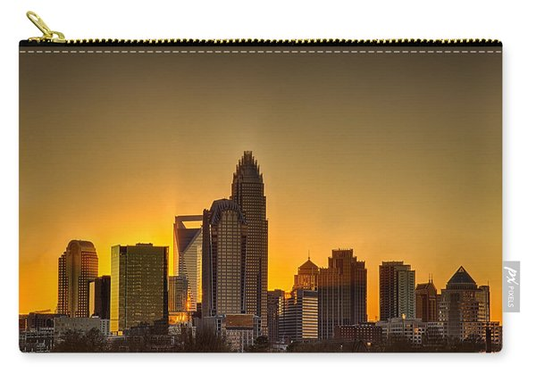 Golden Charlotte Skyline Carry-all Pouch