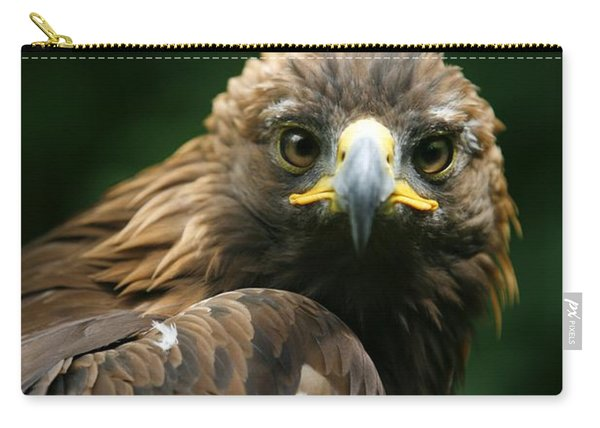 Golden Eagles Face Aquila Chrysaetos Carry-all Pouch