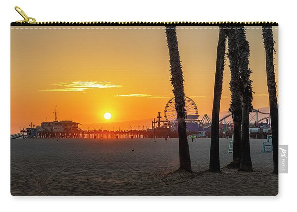Golden Glow At Sunset Carry-all Pouch