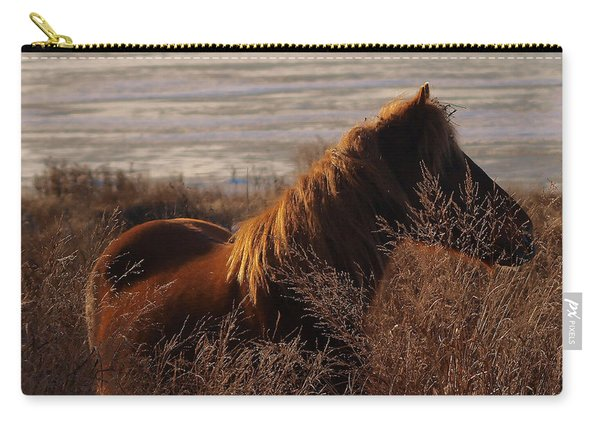 Wild Horse Of Chincoteague Carry-all Pouch