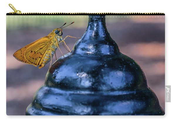 Golden Moth Carry-all Pouch