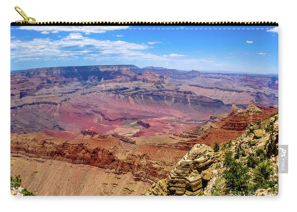 Carry-all Pouch featuring the photograph Grand Canyon by Benny Marty