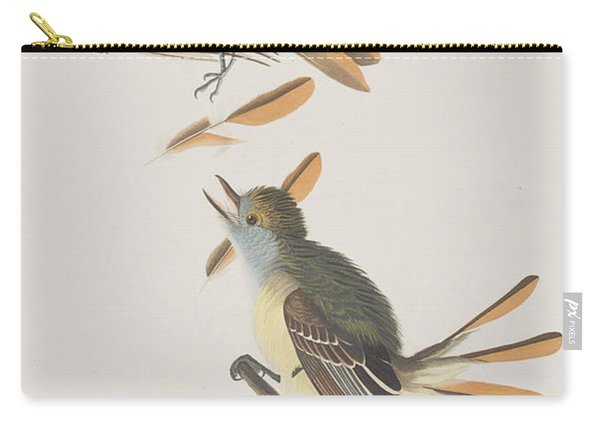 Great Crested Flycatcher Carry-all Pouch