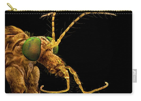 Green Eyed Crane Fly Carry-all Pouch