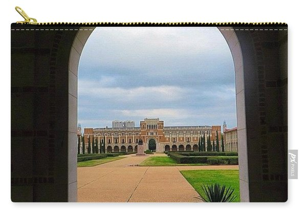 Greetings From Rice University. #framed Carry-all Pouch