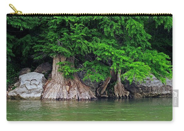 Guadalupe River Cypress Carry-all Pouch