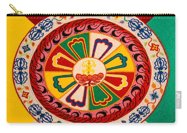 Happiness And Inner Peace Carry-all Pouch