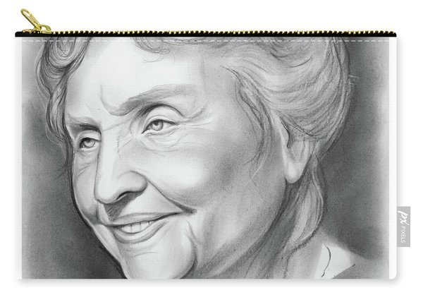 Helen Keller Carry-all Pouch