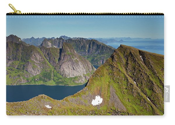 Helvete And Kirkefjord From Munken Carry-all Pouch