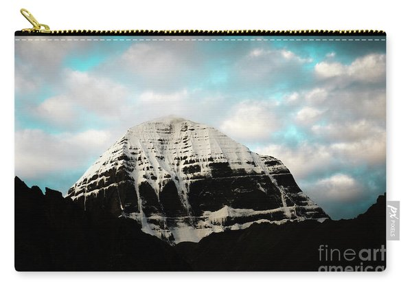 Holy Kailas East Slop Himalayas Tibet Yantra.lv Carry-all Pouch