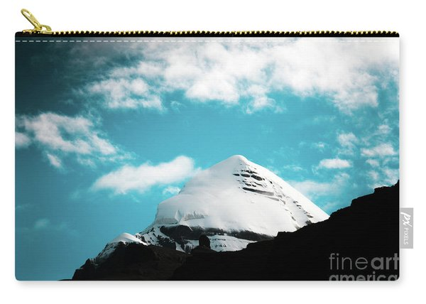 Holy Kailas Himalayas Mountain Tibet Yantra.lv Carry-all Pouch